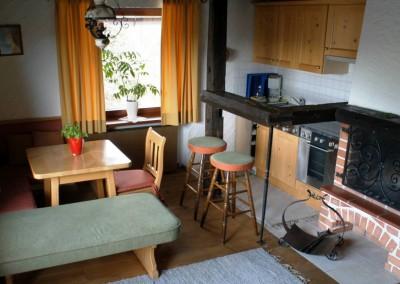 Appartement 17: Küche