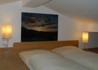 Appartement 15: Galeriebett