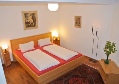 Appartement 31: Bett