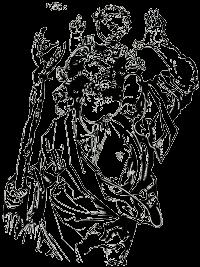 Heiliger Christophorus - Logo