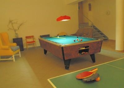 Pool und Tischtennis
