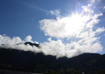 Wolkenstimmung Hahnenkamm